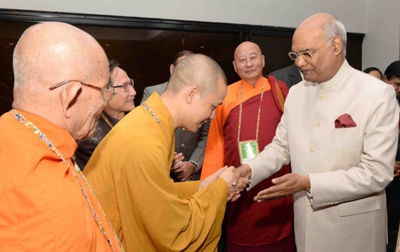 President of India, Ram Nath Kovind, inaugurated the 6th international Buddhist conclave in New Delhi on Thursday..