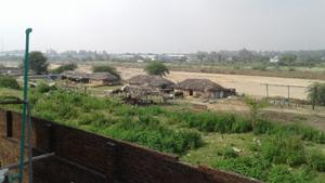 Encroachments on SIDCO land in Bari Brahmana.