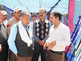 Dorjay Motup, CEC LAHDC Leh during inauguration of training programme on Friday.