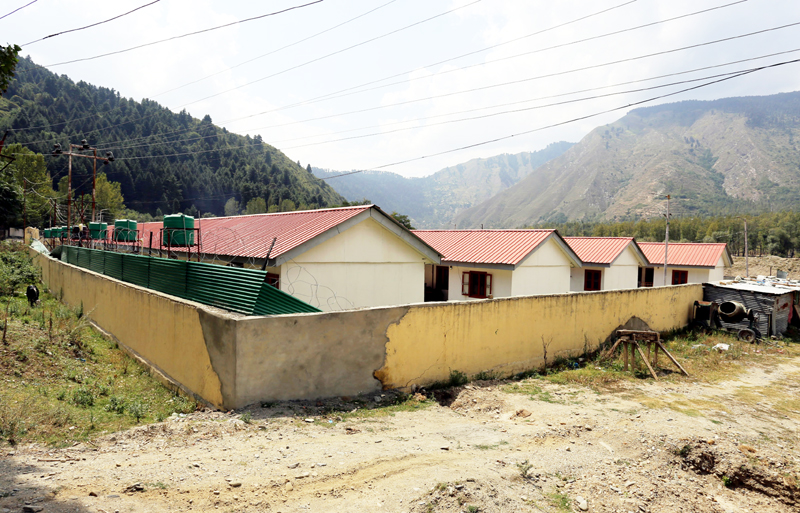 A view of Pandit colony at Veervan in Baramulla district. -Excelsior/Aabid Nabi