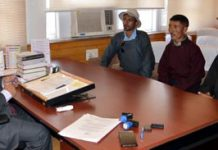 A deputation from Zanskar calling on Advisor on Tuesday.