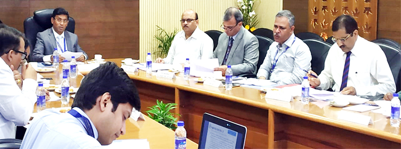 The 41st Empowered Committee meeting on MSMEs for Jammu and Kashmir at Jammu on Wednesday.