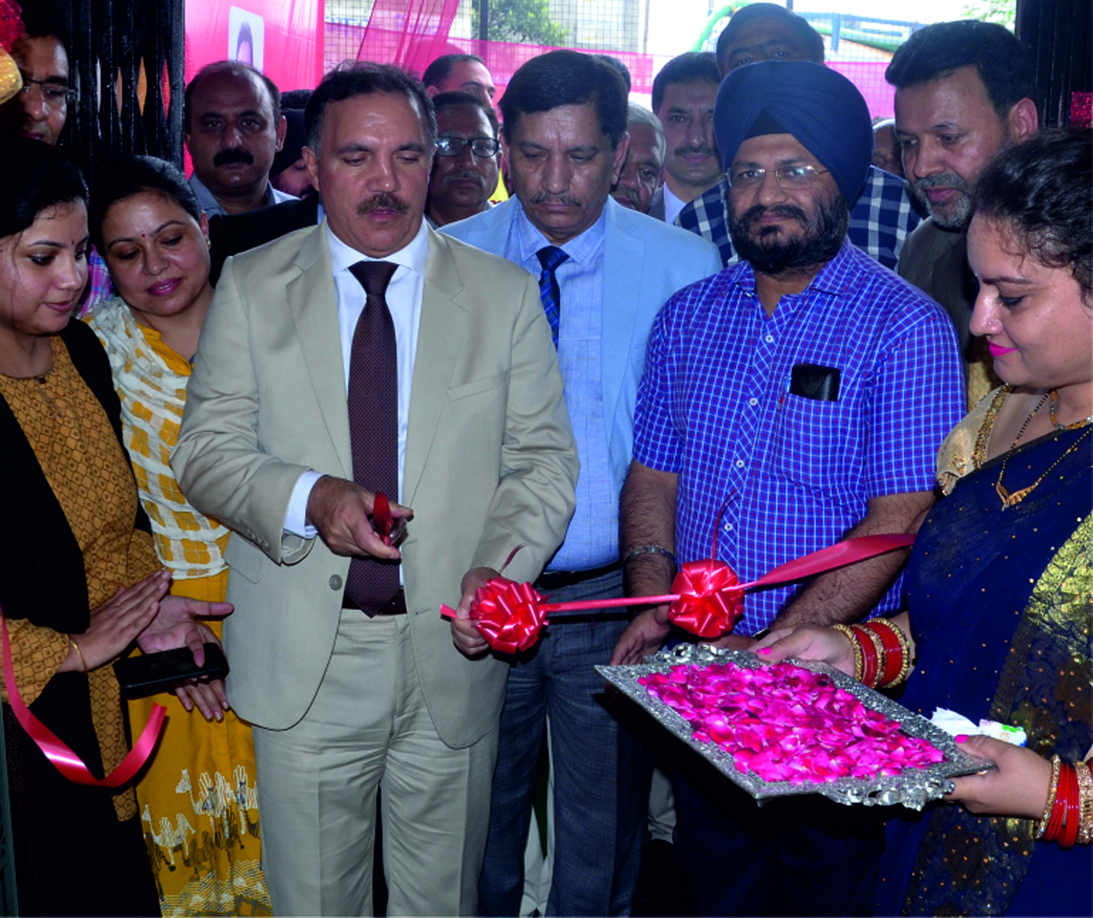 J&K Bank Chairman and CEO Parvez Ahmed inaugurating Bank's Business Unit at Lohara Kot in Sunderbani.