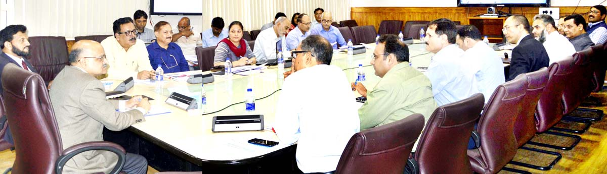 Chief Secretary chairing SLEC meeting on Thursday.