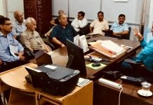 Director FCS&CA Amit Sharma chairing meeting of PCC on Monday.