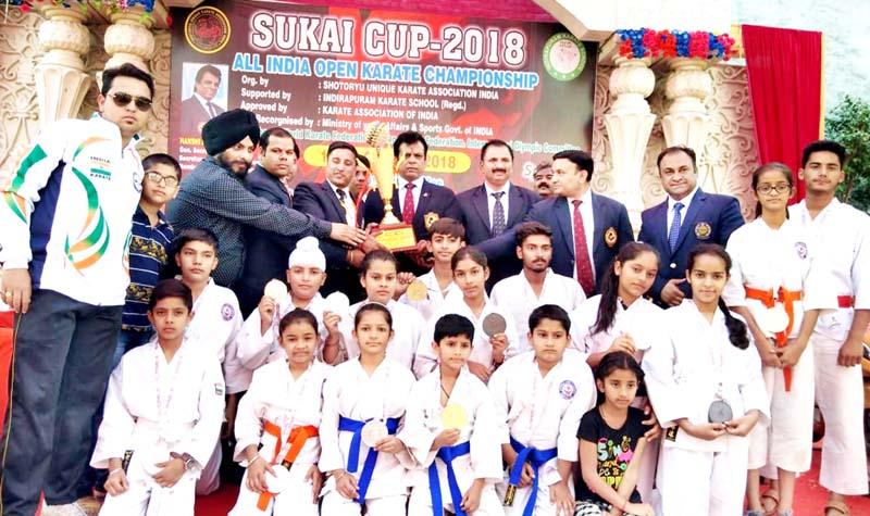 J&K Tenshinkan Karate Do team wins 15 medals in SUKAI Cup