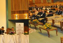 SC Judge delivering key note address on first day of workshop at SKICC on Friday.