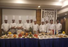 Chefs showcasing Dogri dishes at Fortune Inn Riviera.