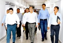 Principal Secretary Planning, Development & Monitoring Department Rohit Kansal visiting Civil Secretariat Jammu on Friday.