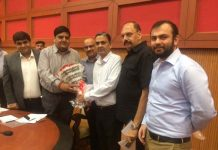 CII delegation at a meeting with Advisor to Governor B B Vyas in Jammu.