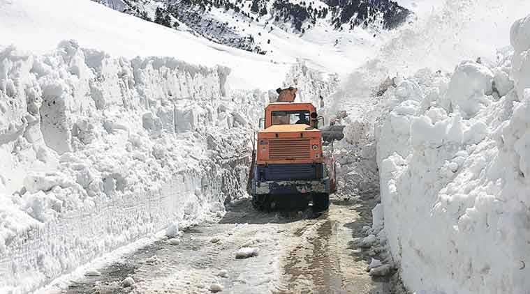 Trouble on Ladakh roads
