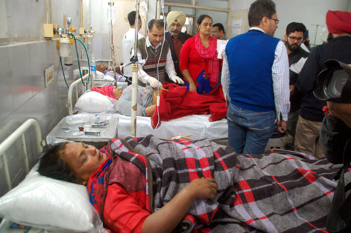 3 killed, 10 injured in blast at Nirankari Bhawan in Amritsar
