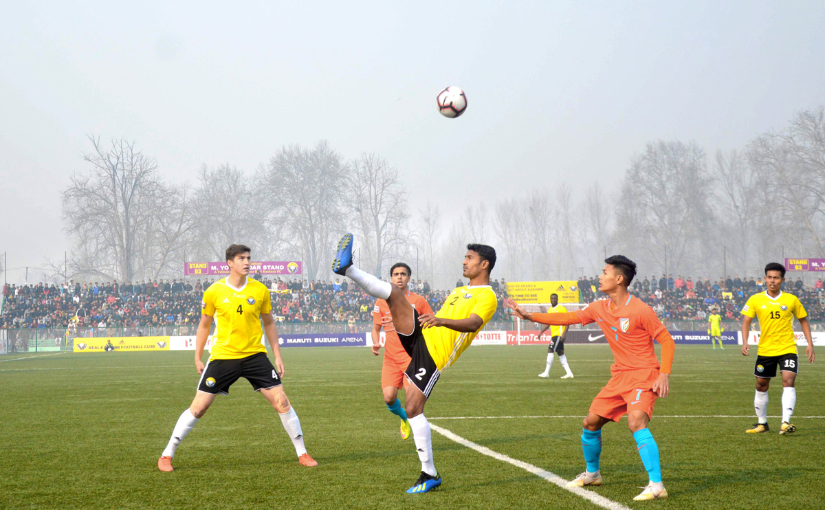real kashmir defeats indian arrows by 2 0 in i league
