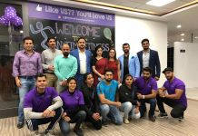 Dignitaries during inauguration of Anytime Fitness gym at Narwal, Jammu.