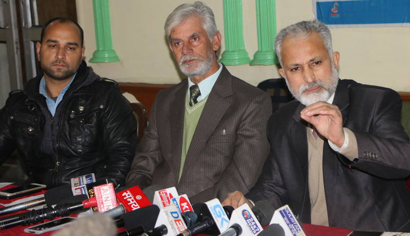 Image result for G.N. Var, chairman of an association of privately run schools in Kashmir