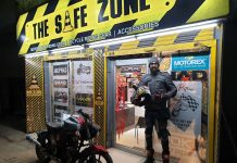 'Safe Zone' for two wheeler accessories.