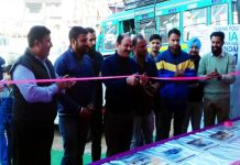 Dignitaries during inauguration of 'Before Service Camp' organized by Devika Hyundai Udhampur.