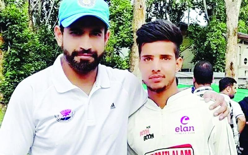 Irfan Pathan & Rasikh Dar
