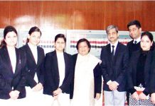 Chief Justice Gita Mittal with newly appointed Munsiffs on the conclusion of Induction Training Programme.