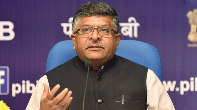 Ravi Shankar Prasad hit back at Rahul Gandhi after his jibe at Modi