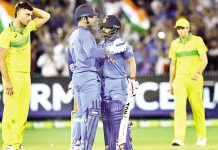 MS Dhoni (87*) and Kedar Jadhav (61*) then stitched together an unbeaten 121-run partnership to take India to victory. MS Dhoni once again showed his experience in pressure situations as he anchored India's run-chase. Kedar Jadhav provided good support for the experienced veteran and finished with a strike rate of 107.01.