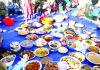 People of Kargil celebrating Mamani, the seasonal Ethnic Food Festival on Friday. -Excelsior/ Basharat Ladakhi