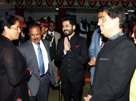 Defence Minister Nirmala Sitharaman meeting with the team of Bollywood film Uri- The surgical strike.