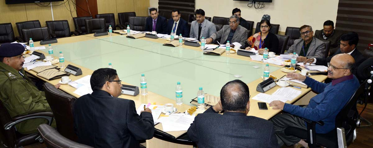 Chief Secretary chairing 30th SLCC meeting on Thursday.