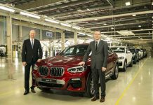 Dr. Hans-Christian Baertels, President (Act.), BMW Group India launching all new BMW X-4 in India.