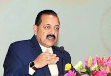 "Union Minister Dr Jitendra Singh speaking at the launch of ""Shisht Bharat"" campaign, at New Delhi on Thursday."