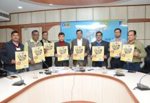 Officers of LIC during launch of 'Micro Bachat'.