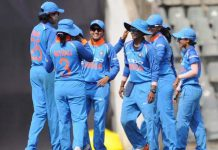 Players celebrating as Indian bowlers dished out a clinical effort to beat England by 66 runs in the first ODI on Friday.