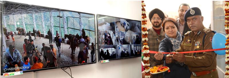 DIG Udhampur-Reasi, BS Tuti inaugurating pre-paid system for hiring Ponies, Pithoos & Palkis at Katra.