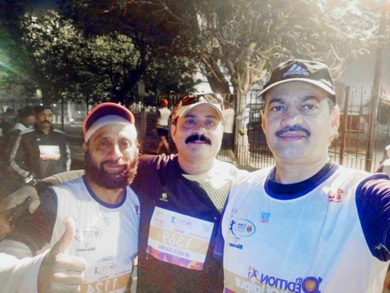 JRG members who excelled in AU Bank Half Marathon at Jaipur in Rajasthan.