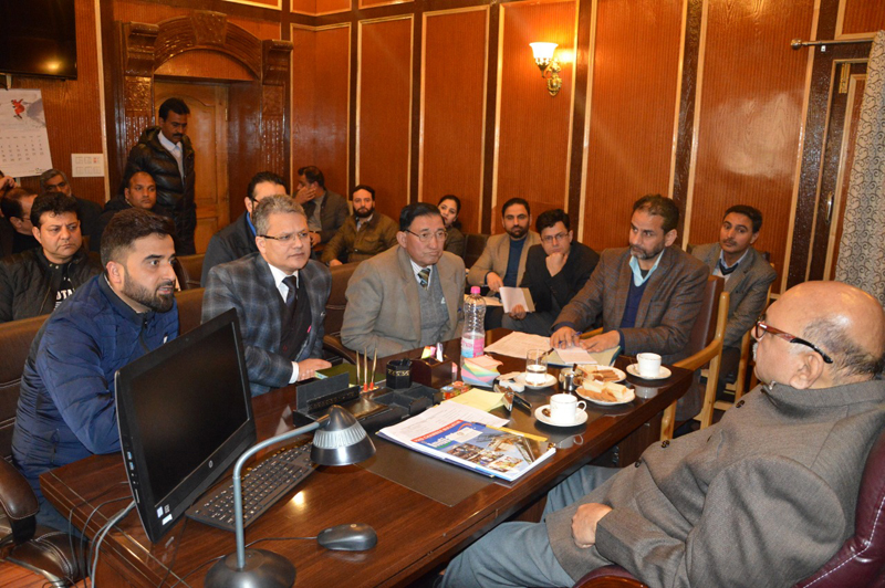 KCCI delegation during meeting with Governor's Advisor.