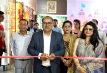 Speaker Legislative Assembly, Dr Nirmal Singh inaugurating Canadian International Pre School in Jammu.