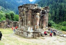 File photo of Sharda Peeth shrine.