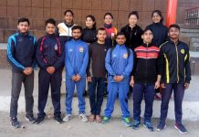 JU Pencak Silat team posing for a group photograph before leaving for Amritsar.