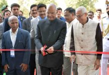 President, Ram Nath Kovind inaugurating Festival of Innovation and Entrepreneurship, at National Innovation Foundation-India, Amrapur, Gandhinagar, in Gujarat on Friday.