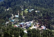 Panoramic view of Patnitop tourist resort. —Excelsior/Rakesh