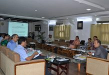 JU VC chairing Syndicate meeting on Thursday.