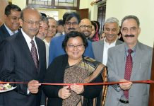 Chief Justice Gita Mittal inaugurating Skill Development Training Programme at Srinagar on Thursday.