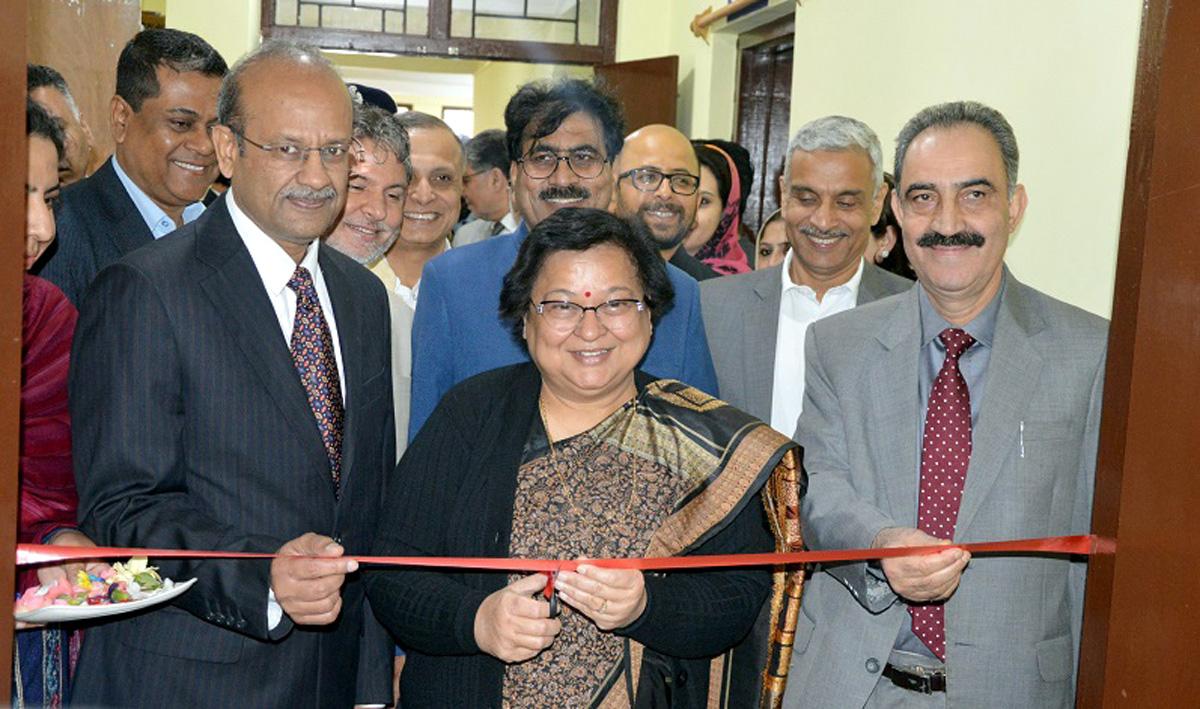 Chief Justice Gita Mittal inaugurating Skill Development Training Programme at Srinagar on Thursday.