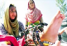 Injured critically in Pak shelling, Tahira craves for Govt assistance. -Excelsior/Rahi Kapoor