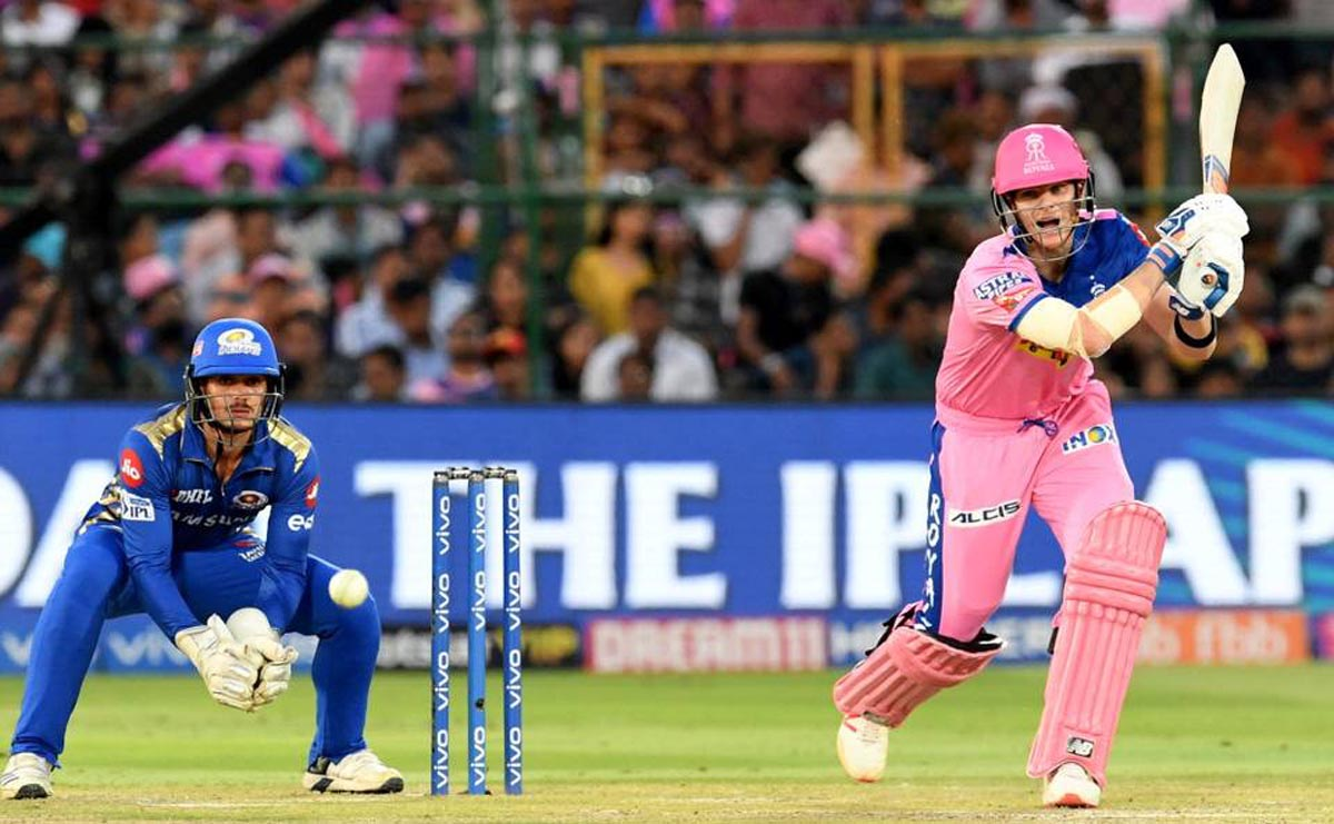 Rajasthan Royals captain Steve Smith played a match-winning knock against Mumbai Indians in.