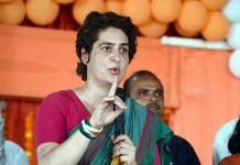 Congress general secretary Priyanka Gandhi Vadra addressing rally in Rae Bareli on Tuesday.