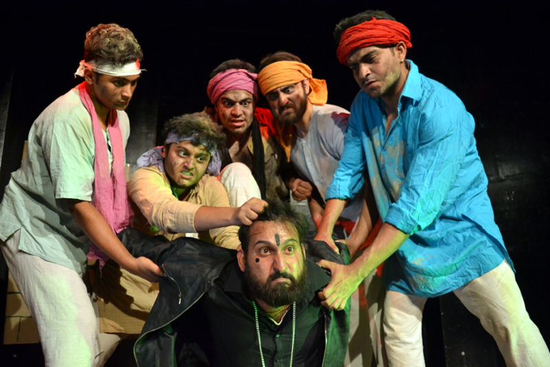 A scene of the play staged by Natrang.