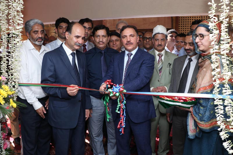 Chairman J&K Bank inaugurating AAS, which was dedicated to cancer patients at Mumbai.