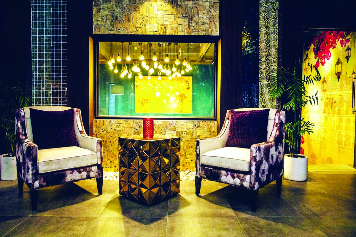 A view of 'MINAR LIVING' concept by Kundan Lal and Sons.