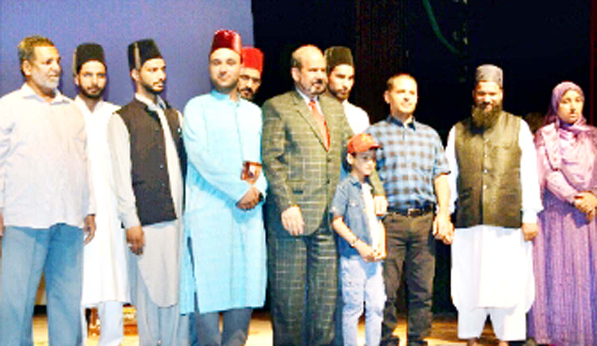 Dignitaries during release of iconic 'Yumbarzaloo' tourist oriented song and reference book titled